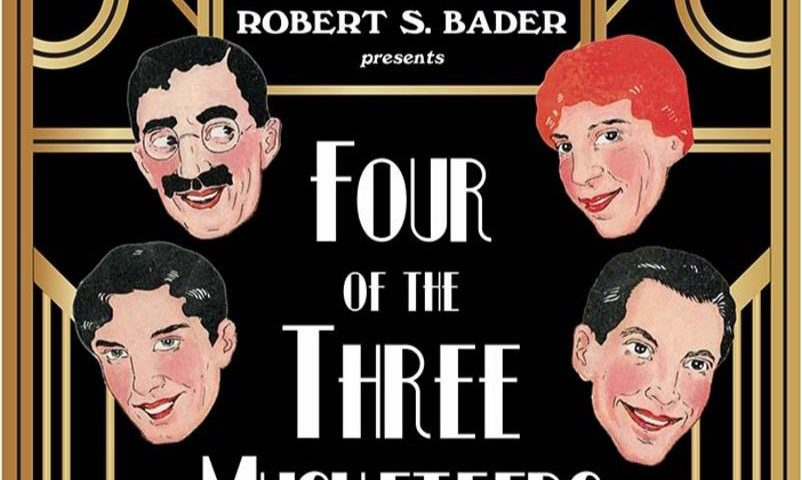 four of the three musketeers the marx brothers on stage