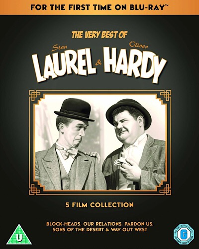 Laurel & Hardy Classics Coming to UK Blu-ray – IT CAME FROM