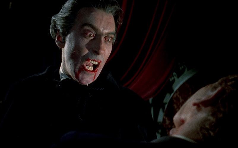 Horror of Dracula (a k a  Dracula, 1958) – IT CAME FROM THE BOTTOM